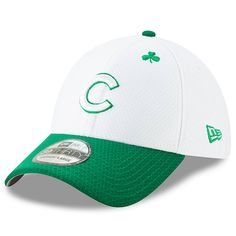 sports shoes 20c21 22596 Men s Chicago Cubs New Era White Kelly Green 2019 St. Patrick s Day 39THIRTY  Flex Hat,  35.99
