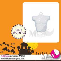 #Forma #Masculina de plástico, color blanco y con gancho incluido. #MusaManiquíes: http://owl.li/C7s5M