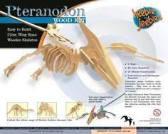A wooden kit that makes your own. This set takes approximately 30 minutes to build and is 52wide when complete. Great to collect and have on a shelf. #dinosaur#kit#wooden#model#science#palentology#educational#toys#kids#children#gift#australia#