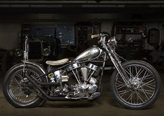 Panhead | Bobber Inspiration - Bobbers and Custom Motorcycles | theroadyeah July 2014
