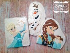 Frozen themed sugar cookies!
