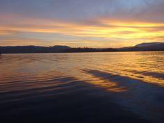 Sunset...Lake Windemere..Ambleside