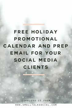 How to Prepare Your Social Media Clients for the Holidays — The Social Media CEO Social Media Cheat Sheet, Social Media Branding, Social Media Marketing, Email Marketing, Social Media Images, Social Media Content, Social Media Tips, Marketing Calendar, Social Business