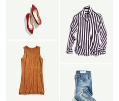 I love the tank in this collection featured in a Stitch Fix Email!