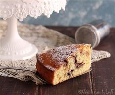 torta soffice alla ricotta e cioccolato