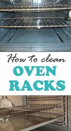 How to clean oven racks ==