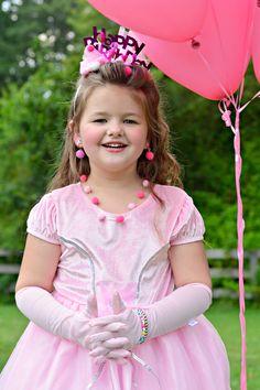 Birthday Club, Princess Birthday, Little Dresses, Flower Girl Dresses, Pink Princess Dress, Royal Party, Pink Sparkles, Fancy Nancy, Disneyland Trip
