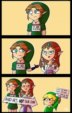 #LegendofZelda names