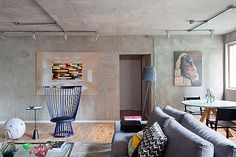 decoracion cocinas con microcemento y muebles de madera - Buscar con Google