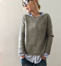 Knitting instructions Mycroft by Isabell Kraemer – knitting instructions Mycrof … – Stricken Sweater Knitting Patterns, Knit Patterns, Knitting Sweaters, Christmas Knitting Patterns, Hand Knitted Sweaters, Diy Mode, Circular Knitting Needles, Arm Knitting, Stockinette