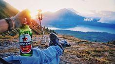 Beer di atas gunung. Siapa berani ..!!!!