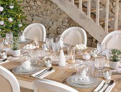 Une table de Noël tout en blanc, Une table de Noël tout en blanc