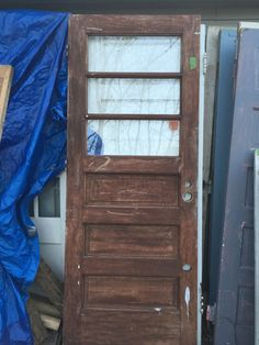 Beautiful Original Hardware On This Ridiculously Awesome 6 Pane Vintage Door! | FOR  SALE   East Coast Upcyclers | Pinterest | Vintage Doors, Hardware And Doors