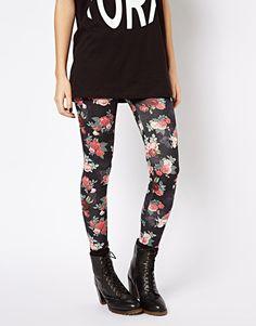 Rose Print Legging at ASOS $24