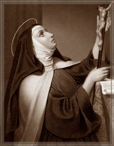 """When St Teresa of Avila, one of the Doctors of the Church, was caught one night in a cold storm, with her wagon stuck in the mud, she shook her fist up at heaven and yelled """"If this is the way you treat your friends, O Lord, it's no wonder you have so few!"""""""