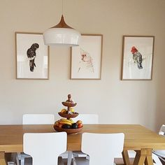 Trio\'s seem to be popular at the moment. Awwwww just love it when my customers are happy and excited to share their new wall #pets with me 😃 to share with you 😃 . Thank you so much, they're gorgeous. The paper divine and the printing looks just like an original. My husband is a lithographic printer and he was very impressed! Here\'s a pic of them playing in my kitchen\