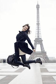 Day 7 - Paris, France - Eiffel Tower  Jump