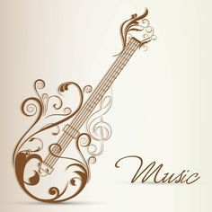 Image result for quilled acoustic guitar
