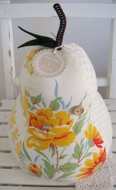 LARGE Pear Shaped pillow