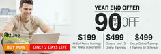 Last two days left for YEAR END Discount Offer __ http://www.attuneuniversity.com/training/online-training.html