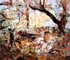 Cecily Brown, Girl on a Swing #2, 2004