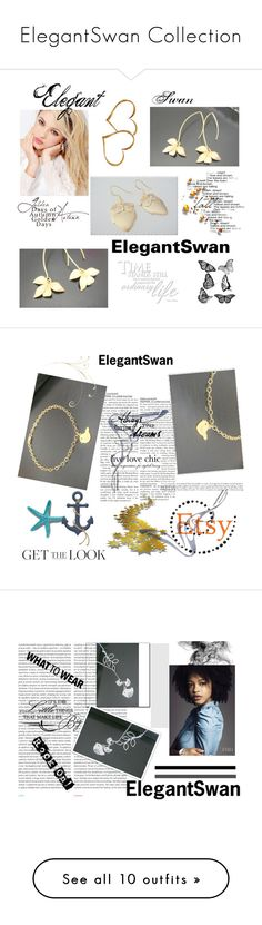 """""""ElegantSwan Collection"""" by nedim-848 ❤ liked on Polyvore featuring Silvana, Oris, Kershaw, Laura Mercier, Pussycat and REGALROSE"""