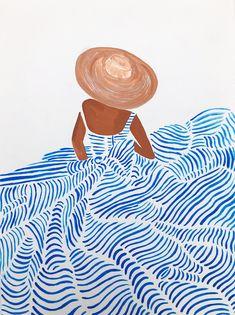 Watercolor Wallpaper, Watercolor Pattern, Watercolor Art, Illustration Art Drawing, Art Drawings, Simple Canvas Paintings, Muse Art, Sketch Painting, Minimalist Art