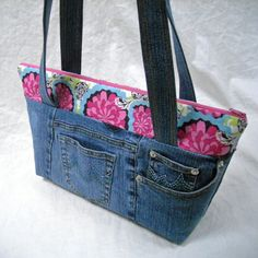 pocket tote bag pattern | Purse and Bag Patterns from ... | Sewing id ...