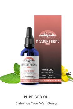 ENHANCE YOUR WELL-BEING: PURE CBD oil is an all-natural synergy of CBD and essential oils for reducing inflammation, anxiety, and pain. At the same time, Pure CBD is therapeutically effective at boosting your mood, energy, and overall wellness.  Enhance your well-being and get back to top form! #cbdoil #hempextractoil #wellness #therapeuticoils Vanilla Essential Oil, Essential Oils, Endocannabinoid System, Oils For Sleep, Cbd Oil For Sale, Medical Research, Reduce Inflammation, Pure Products, Bath Products