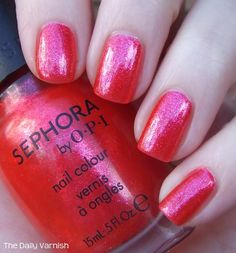 Sephora by OPI Go With the Flow-er outside