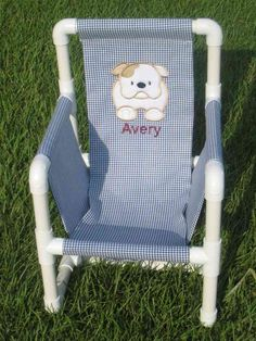 Pattern for Children's PVC Pipe Chair by GettinPersonal on Etsy