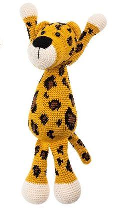 Crochet Lion, Crochet Animals, Crochet Baby, Knit Crochet, Amigurumi Doll, Amigurumi Patterns, Elephant Pattern, Diy Toys, Tigger