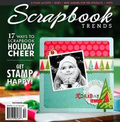 Scrapbook Trends Magazine: Dec 2010 | Northridge Publishing