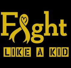 #childhoodcancer #fightlikeakid #nokidfightsalone