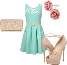 Spring colors and fun dresses!