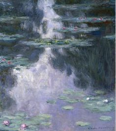 Water Lilies (Nymphéas) (1907) by Claude Monet The Museum of Fine Arts, Houston