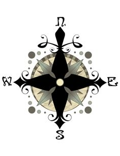 I've always thought about getting a compass... Funny thing though, I showed a friend my design, but she and I grew apart. Then the next time I ran into her she had my tattoo, in the exact spot I wanted it... Everyone tells me it was a compliment...