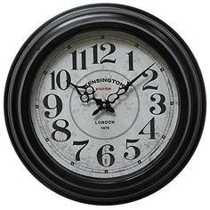Yosemite Home Decor Circular Iron Wall Clock Circular Iron *** Want additional info? Click on the image.
