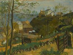 The White House, Torcross by Kenneth Rowntree.