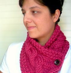 Ravelry: Windy City Knits Cabled Cowl pattern by Angela Walker