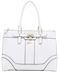 GUESS Greyson Status Carryall Saffiano - Tote Bags - Handbags & Accessories - Macy's