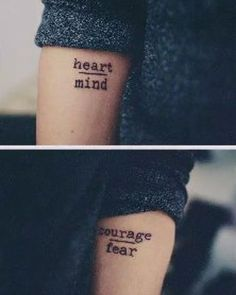 These heartening priorities. | 24 Beautiful Little Phrases To Tattoo On Yourself