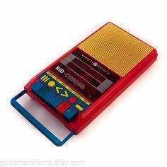 Vintage Cassette Tape Player Recorder