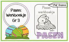 Thema Pasen: werkboekje groep 3!