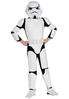 Child deluxe Stormtrooper costume is the kids version of the Imperial  Stormtrooper. This kids Star Wars Stormtrooper costume comes with a helmet  and belt. 459eb9e9aca