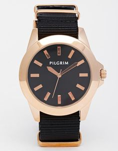 Image 1 ofPilgrim Rose Gold Plated Watch