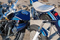 Yamaha SR250 Little Blue by C59R