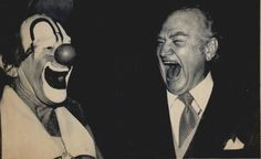Famous circus clown Lou Jacobs and Red Skelton  http://clownpictures.info/red-skelton-photo-gallery/
