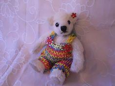 """teddymarkt.de - Künstler-Bären > Bären von 8 bis 17 cm - """"Carla"""" von den Rodebärchen"""