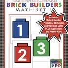 Your brick enthusiasts will love this math center activity in your classroom.     This 17-page unit includes 12 PAGES of printables, which all encour...